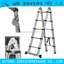 hydraulic telescopic ladder folding steps for truck