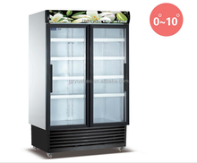 Good preservation price upright commercial used refrigerator for sale