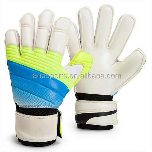 WoWEN-3086# High quality football protecting 4mm goalkeeper gloves