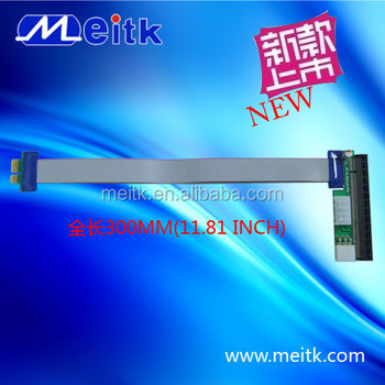 30cm length 1x to 16x PCI-E riser flex ribbon cable