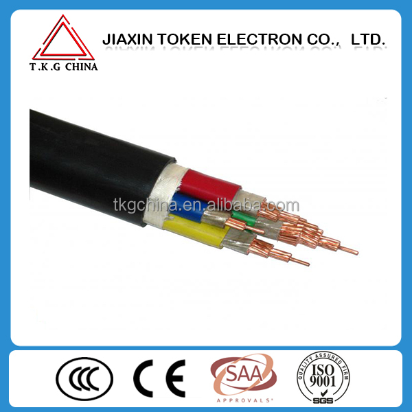 LSZH YJV/YJV22 3*50 3*25 sq mm power cable type YJV Cable specifications 0.6/ 1.0 kV electrical copper cable