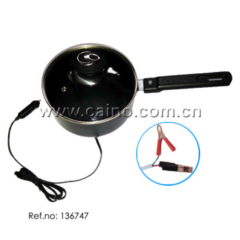 Car cooking pan DC 12V and 24V