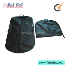Newest design foldable garment bag with hard plastic handles