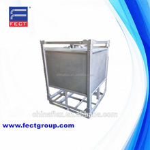 500L Steel Cage Used IBC Tank Liquid Containers For Sale
