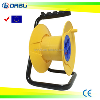 European Electric Extension Cable Reel With Socket Outlet Switch