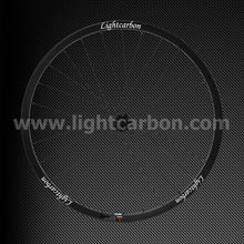 "2014 LIGHTCARBON 26"" mtb T700 carbon wheelset cross country OEM carbon mountain bike carbon wheel"
