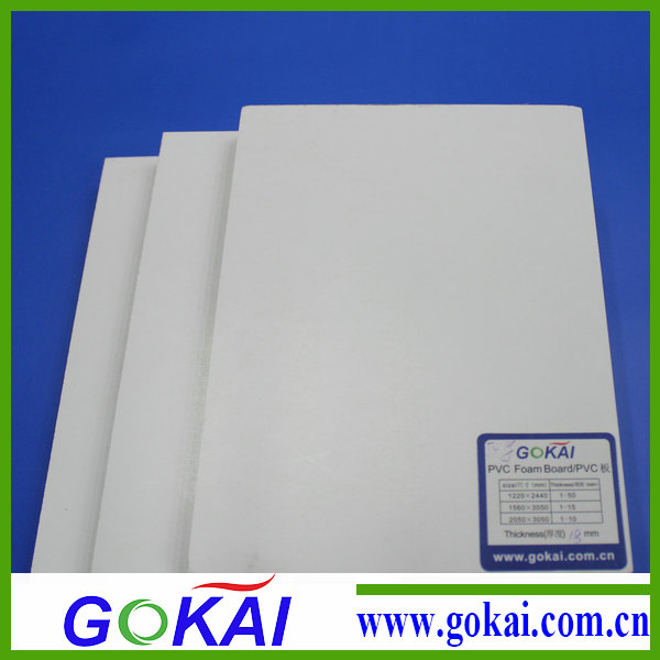 High impact resistance pvc foam board