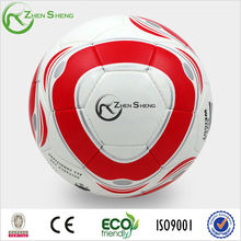 Zhensheng leather pu soccer ball