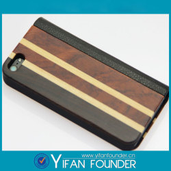 First grade bamboo mobile phones bags&cases for apple iphone ,mini sample order accepted