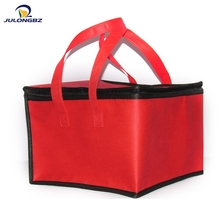 Durable Square thermal fabric portable insulation non-woven cooler bag lunch
