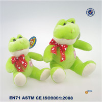 Cute stuffed toys Frog with Embroidery