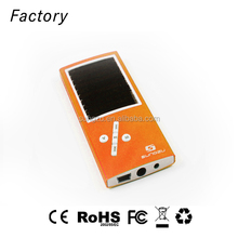 Advertising product solar powered music player best promotion gift FM radio player OEM ODM Shenzhen factory solar power mp3