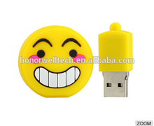 Cartoon character Emoji Shape Bulk USB Flash Drive 2G-64G For Promotional Gift Wholesale