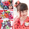new Fashion Girl's baby flower Popular hairdress hair accessories hair holder