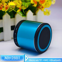 Outdoor Stereo Mini TF Card Led Light Bluetooth Speaker Music Player