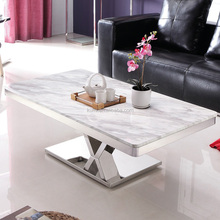 Marble short leg used coffee table and chairs