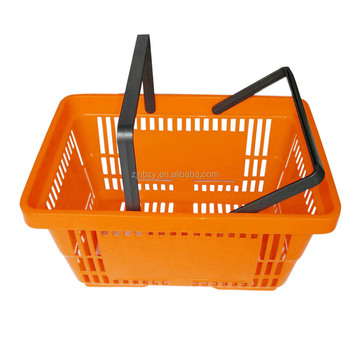 3 plastic folding basket with two handles in UK
