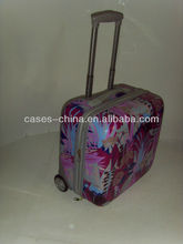 pilot case with trolly/fright case/hard shell travel trolley luggage