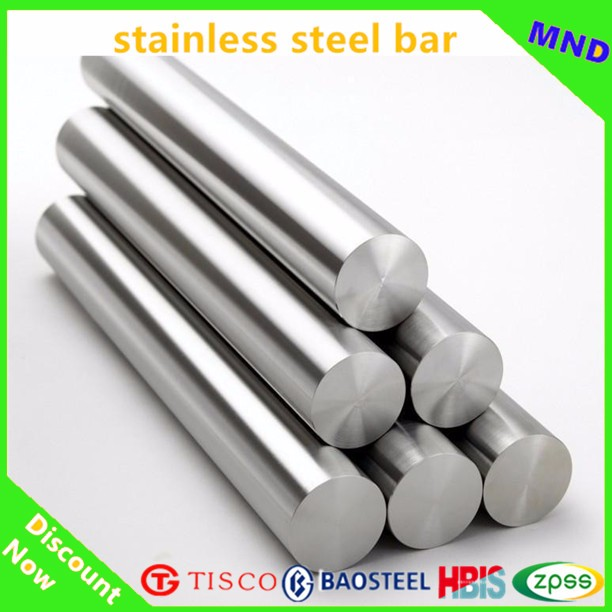 Anti-corrosion 201 cold rolled 2B finish stainless steel round bar