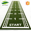 Meter Mark Artificial Grass for Gym Flooring Sled Track