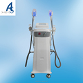Cryolipolysis machine with double handle