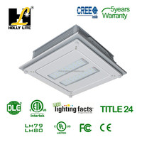 110W DLC approval LED Canopy Light 400W Metal halide lamp replacement