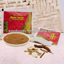 herb medicine 100% foot bathing powder hot bama herbs for foot bath