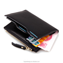 Wholesale Free Shipping 2016 pidengbao/bogesi/baellerry <strong>wallet</strong> with zipper Mix Color Card holder Coin Purse Pockets <strong>wallet</strong> men