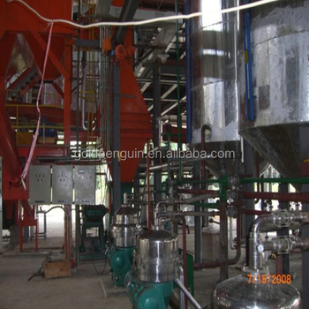 New Condition and Cold&Hot Pressing Machine Type soybean oil refining machine