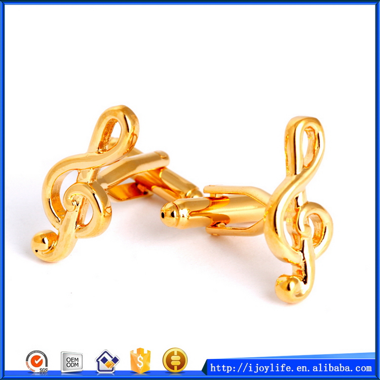 New style new products music notes alloy cufflinks