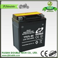Environmental maintenance free VRLA ytx7-bs motorcycle battery