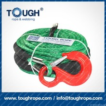 alternative to steel cable synthetic winch rope/line Reach international testing standard