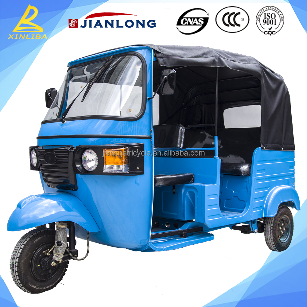 bajaj passenger three wheel motorcycle for Bangladesh