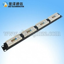 24 Port UTP Cat5e patch panel/cat5e amp patch panel/distribution frame