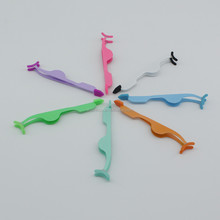 New Colorful Stainless Steel False Eyelash Extension Applicator Remover Clip Tweezers