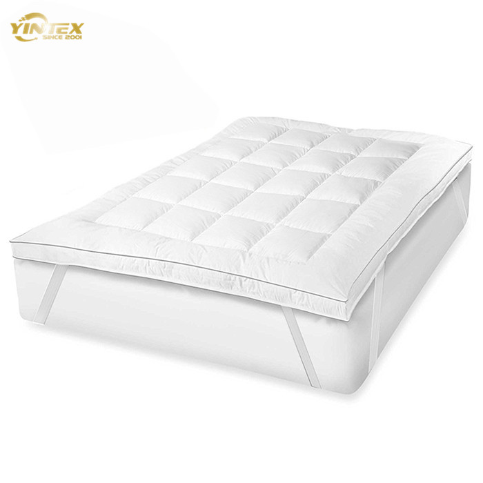 Factory directly quilted duck down mattress topper from China - Jozy Mattress | Jozy.net