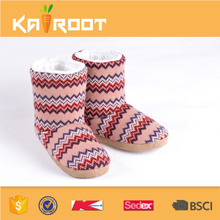 2017 Colorful women indoor China snow boots