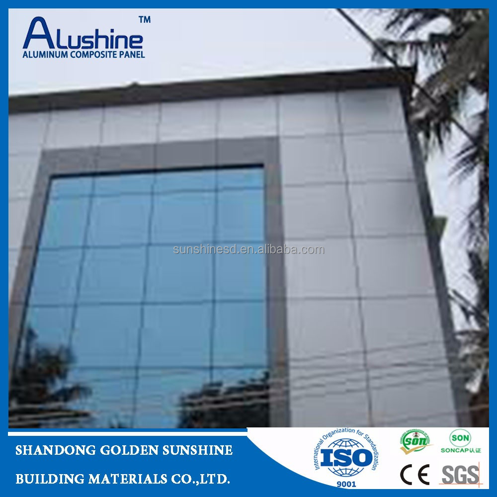 Alushine caravan exterior wall composite aluminum panel cladding designs manufacturer