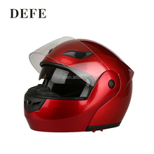Reliable quality motorcycle helmet flip up helmet with pc visor