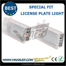 factory best sellers 12V white Special fit rear license plate lights motorcycle led license plate light