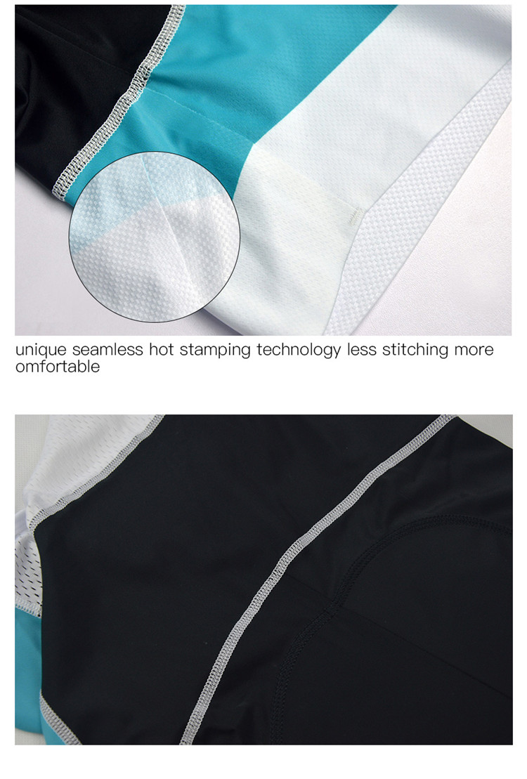 Customized Design Anti-Bacterial Ultralight Good Italian Mountain Bike Cycling Clothing With Back Pocket