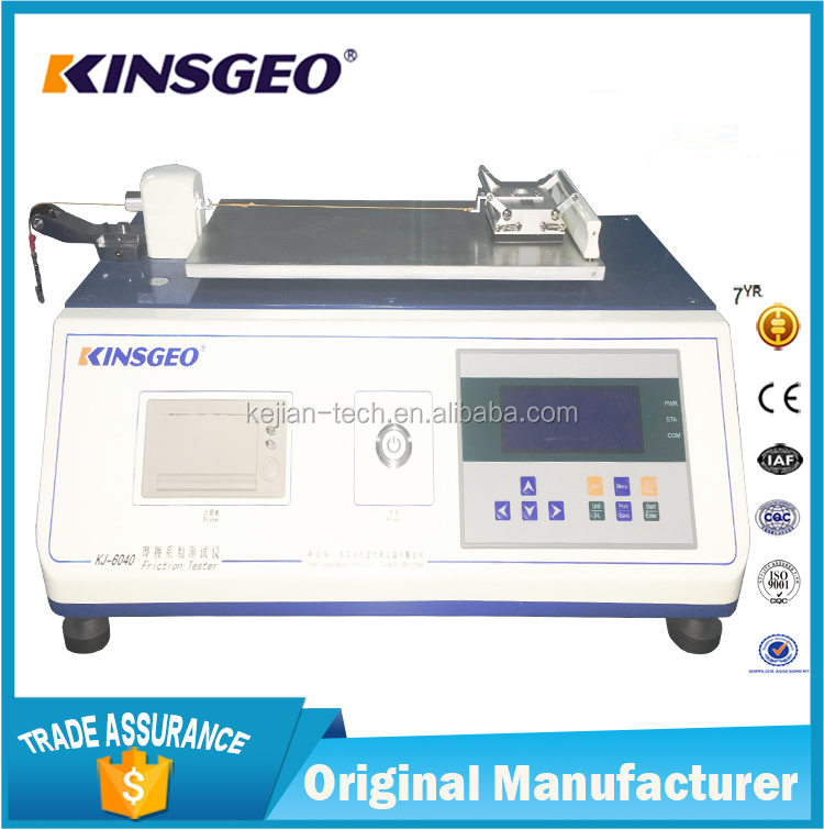 Coefficient Of Friction Tester/testing equipment
