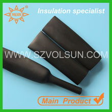 Ozone Aging Resistant UV Resistant EPDM Rubber Heat Shrink Tube/ Tubing