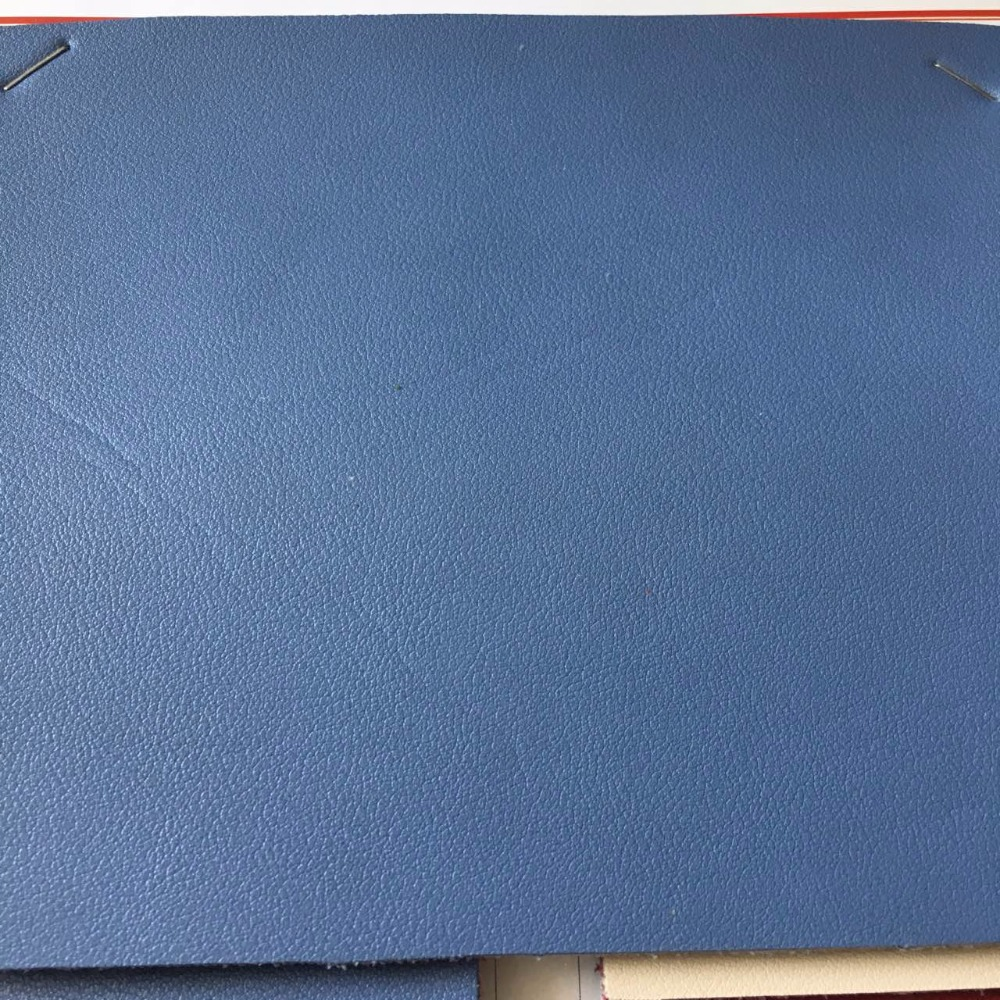 Suede fabric Bonded leather PVC artificial cow Nappa pattern for handbags making