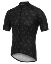 MEN Cool Breathable Fashion Comfortable Short Sleeve Triathlon Tops Race Cut Cycling Jersey