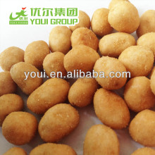 Hot Seller Roasted Sweet Corn Flavor coated peanuts, wholesale peanut price