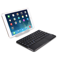 PU Leather Detachable Bluetooth Keyboard Stand Case Cover for 10' Table IOS Android Windows