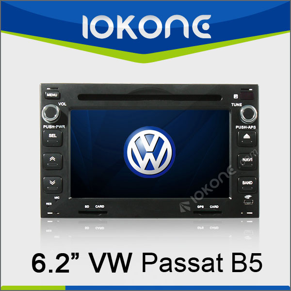 2din 6.2in HD Touch Screen Auto Stereo For VW Passat B5