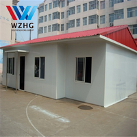 Cheapest Glass fiber prefab house/eps panel house made in China
