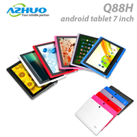Best low price tablet pc q88 quad core android tablet 7 inch